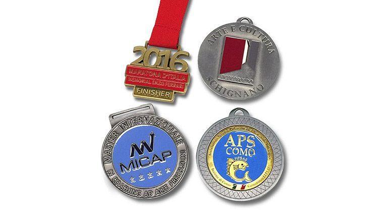 Medaglie premiazione oro e argento | Podio Sport